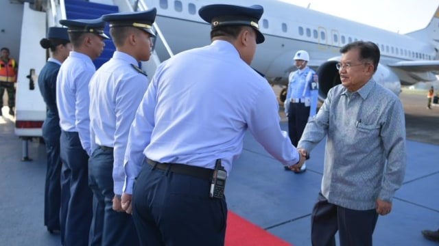 Kunjungan kerja Wakil Presiden Jusuf Kalla ke Balikpapan
