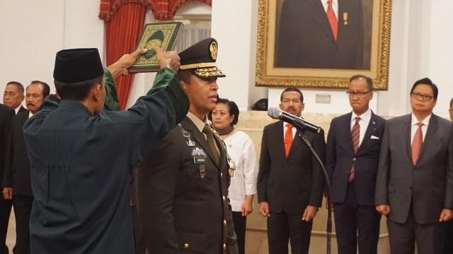Jenderal TNI Andika Perkasa Resmi Menjabat Sebagai KSAD.