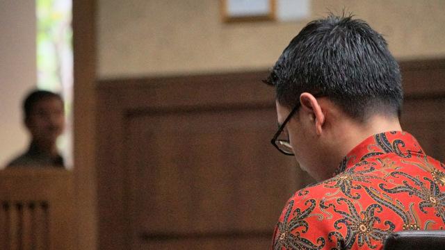 Zumi Zola, Sidang Pembacaan Pleidoi, Pengadilan Tipikor, Jakarta