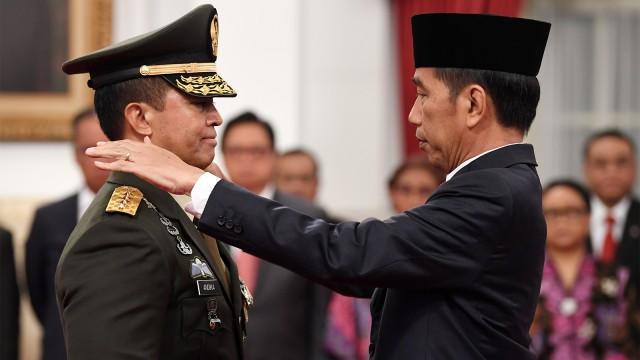 Presiden Joko Widodo, Jenderal TNI Andika Perkasa