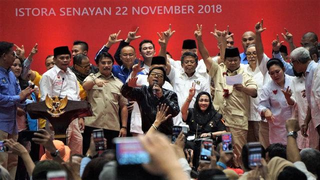 Amien Rais, Rachmawati, Prabowo Subianto, Titiek Soeharto