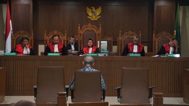 Ilustrasi sidang di Pengadilan Tipikor, Jakarta