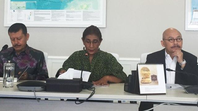 Konferensi Pers Menteri Susi Pudjiastuti, Mina Bahari