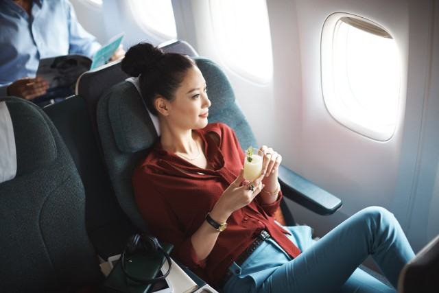 Imbas Corona, Cathay Pacific Kurangi Jumlah Kapasitas Penumpang Hingga 96 Persen (6526)