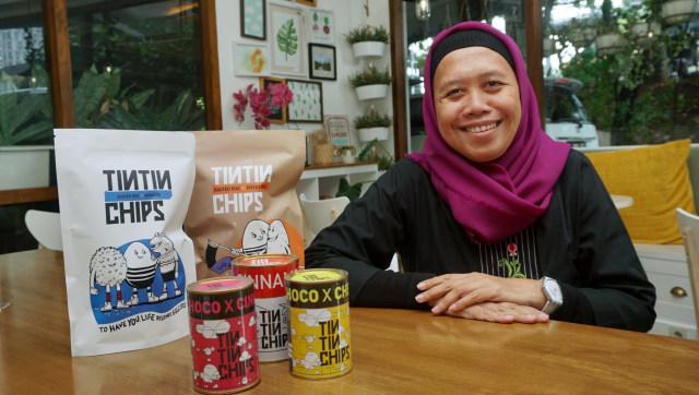 Inspirasi Womanpreneur: Rina Trisnawati, CEO Sociopreneur TinTin Chips (169990)