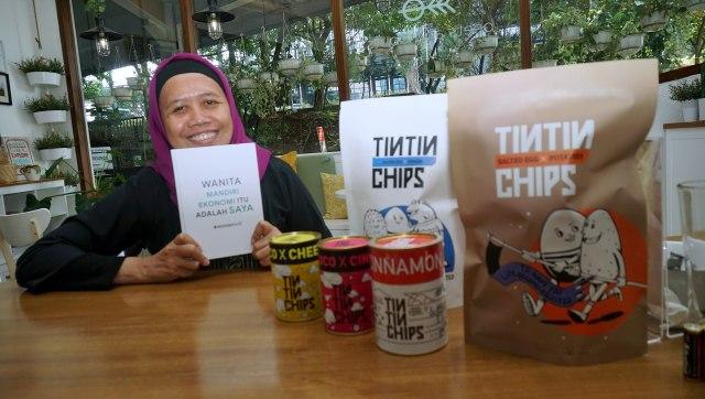 Inspirasi Womanpreneur: Rina Trisnawati, CEO Sociopreneur TinTin Chips (169993)