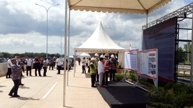 Presiden Joko Widodo, Tol Bakauheni-Terbanggi Besar, Lampung