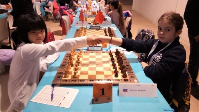 Perjalanan Samantha Edithso, World Cadets Chess Championships U10