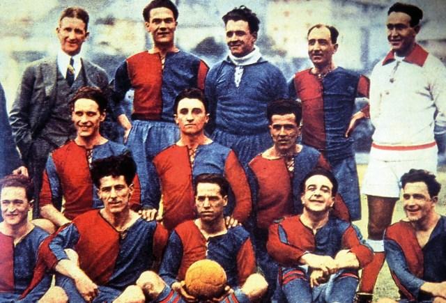Genoa CFC (NOT COVER)
