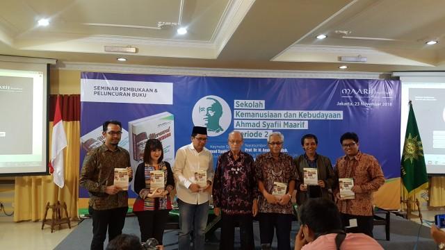 Buya Syafii Maarif, Seminar Pembukaan dan Peluncuran Buku
