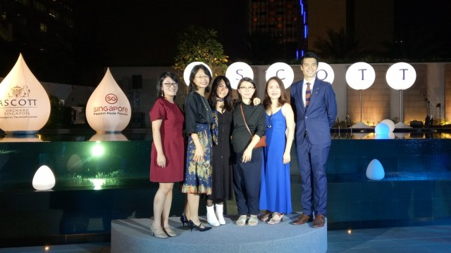 Pembukaan Ascott Orchard Singapore Fashion Experience