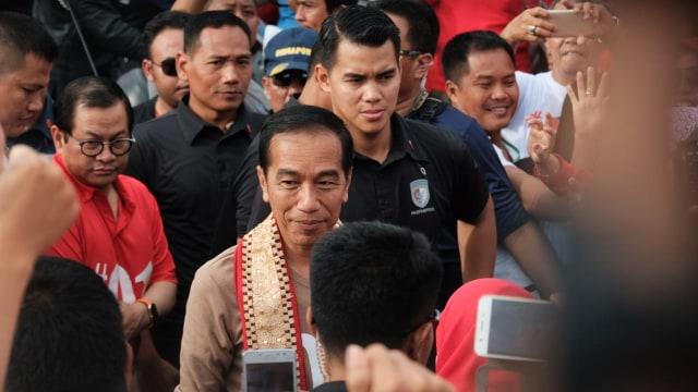 Jokowi, Jalan Sehat, Lampung
