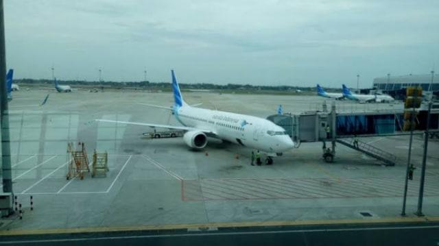 Pesawat Garuda Indonesia Tergelincir, Bandara Adisutjipto Tetap Normal (5289)