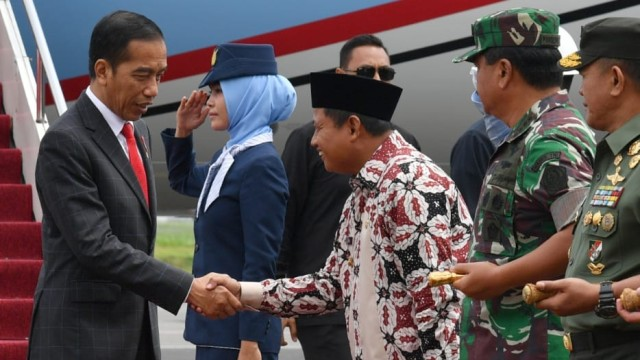 Jokowi, Apel Danrem-Dandim Terpusat