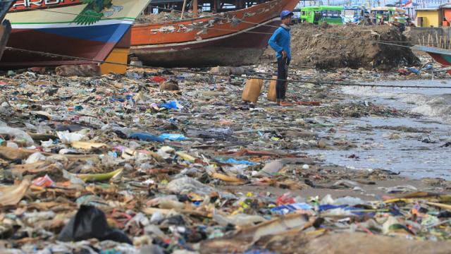Smpah plastik, laut sampah, pencaemaran laut
