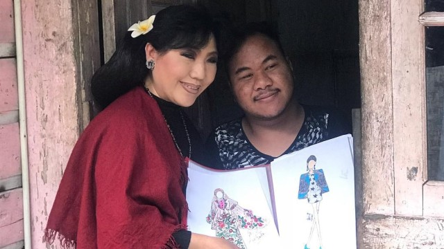 Cerita Anne Avantie Kunjungi Rahmat Hidayat, Desainer Difabel Berbakat (388281)