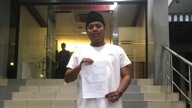 Ketum Cyber Indonesia Muannas Alaidid laporkan Bahar Bin Smith