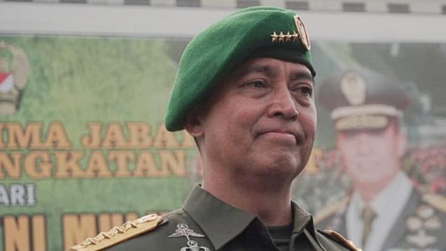 KSAD Jenderal TNI Andika Perkasa,Serah Terima Jabatan Kepala Staf TNI Angkatan Darat