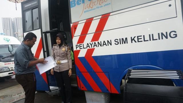 Jadwal SIM Keliling dan Gerai SIM di Jakarta, 7 Desember 2020 (8638)