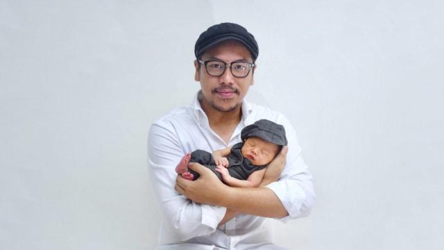 Sammy Simorangkir dan anak