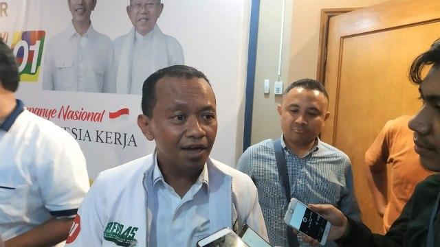 Direktur Penggalangan Pemilih Muda TKN Jokowi-Ma'ruf Bahlil Lahadalia