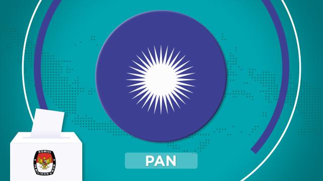 Cover Parpol, Partai Amanat Nasional, PAN