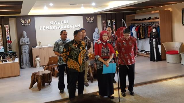 Dirjen PAS Sri Puguh Budi Utami, Konferensi pers, napi Lapas Banda Aceh