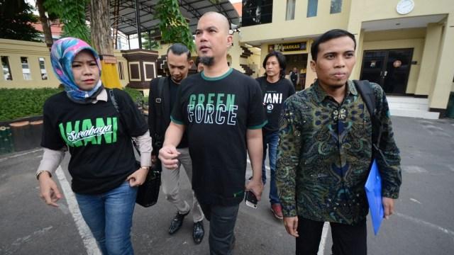 Dhani Diperiksa Sebagai Pelapor Atas Dugaan Persekusi di Surabaya (71984)