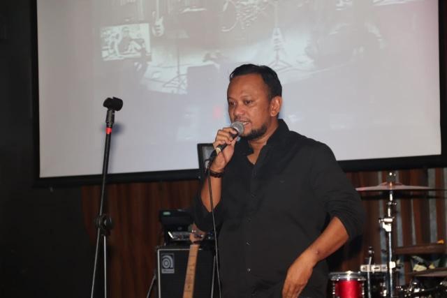 Anas Syahrul Alimi selaku CEO Rajawali Indonesia Communications