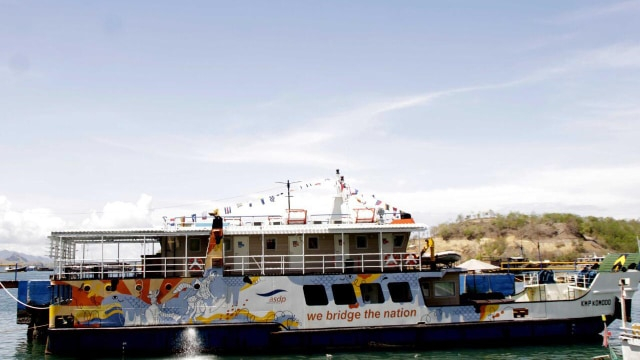 ASDP: Industri Kapal Feri Tertekan Jika Tarif Penyeberangan Tak Naik (105975)