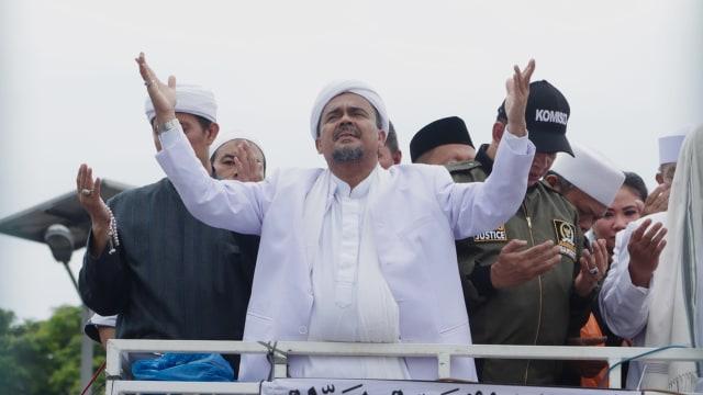 Habib Rizieq dkk Sumbang 1 Sapi Kurban di Gaza Palestina (63802)