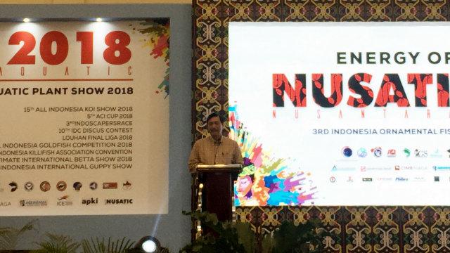Menteri Luhut Binsar Panjaitan di Acara Nusantic 2018, ICE BSD Tangerang