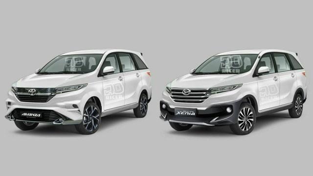 Klarifikasi Daihatsu Toyota Soal Gambar Sketsa Avanza Xenia Baru Kumparan Com