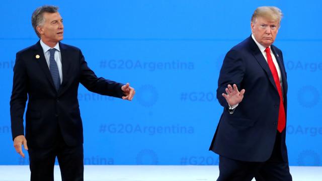 Donald Trump Kikuk di Panggung G20: Keluarkan Saya dari Sini (75396)