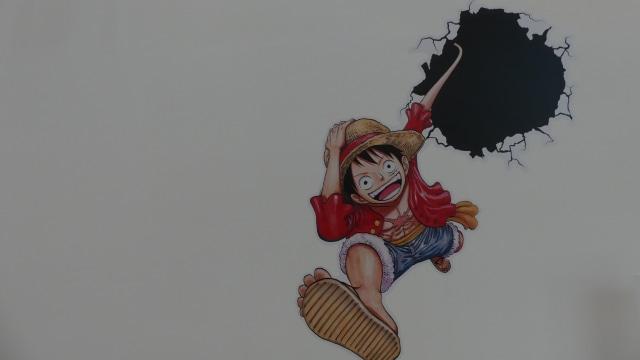 Karakter Luffy di One Piece