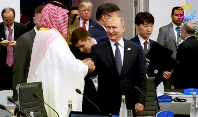 Presiden Rusia dan Pangeran Mohammed bin Salman
