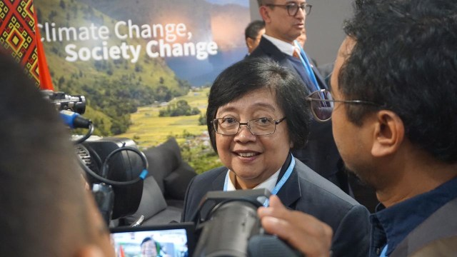 Menteri LHK Siti Nurbaya di COP24