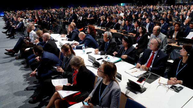 COP24 UN Climate Change Conference 2018, Katowice, Polandia