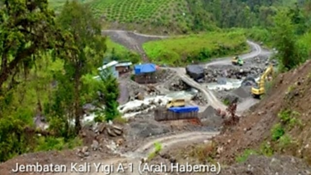 Lokasi Jembatan Trans Papua yang Pekerjanya Ditembak Mati oleh KKB (27369)