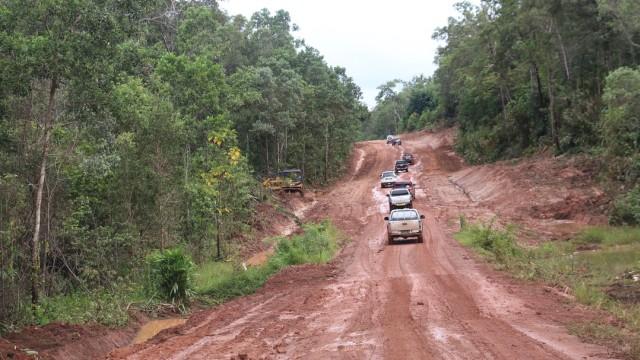 Lokasi Jembatan Trans Papua yang Pekerjanya Ditembak Mati oleh KKB (27368)