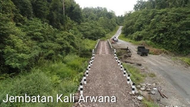 Lokasi Jembatan Trans Papua yang Pekerjanya Ditembak Mati oleh KKB (27372)