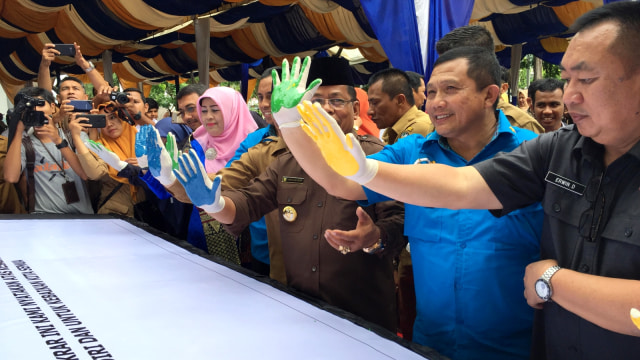 Kepala BNNP Aceh hadiri deklarasi Banda Aceh Anti Narkoba
