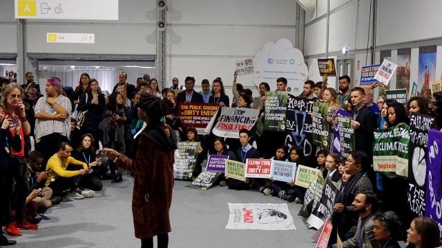 Aksi milenial kampanyekan, perubahan iklim, COP24