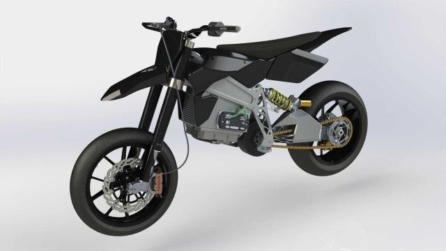 Motor listrik Axiis Liion Electric Supermoto
