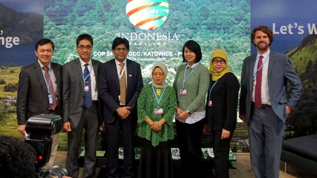 Ketua Negosiator Indonesia untuk United Nations Framework Convention on Climate Change (UNFCCC), Nur Masripatin, COP24, Katowice, Polandia