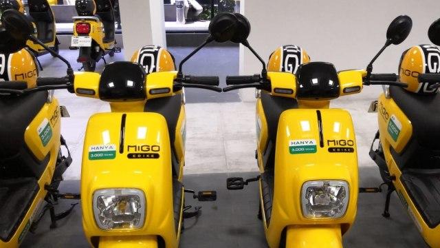 Sepeda listrik Migo Ebike di Jakarta