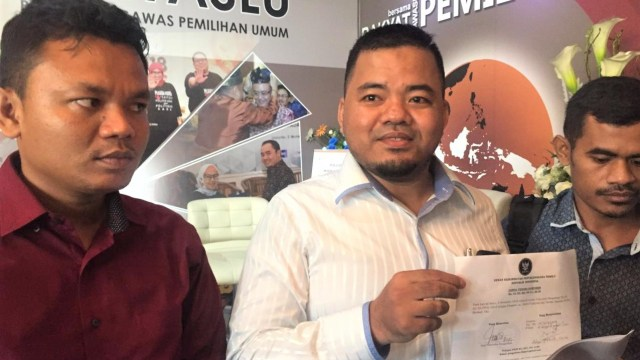 Ketua Presidium Jaringan Advokat Pengawal NKRI Abdul Fakhridz Al Donggowi Laporkan Anggota Bawaslu RI dan Bawaslu DKI ke DKPP