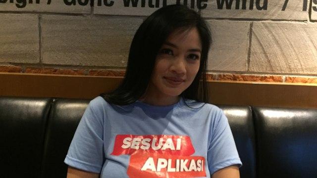 Titi Kamal ditemui di CGV Grand Indonesia