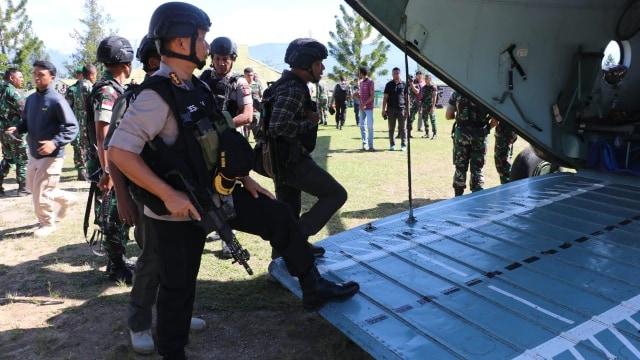 Satuan Setingkat Peleton (SST), TNI-Polri, lokasi penembakan KKB, Papua