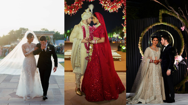 Detail 5 Gaun Pernikahan Priyanka Chopra yang Spektakuler (217429)